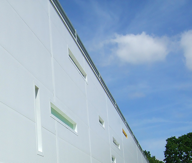 Morrisons Cladding